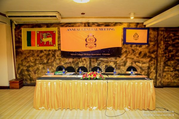57th AGM Rahula College